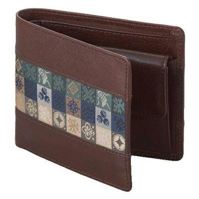 石畳緞子 (11.5×9.5×3cm)ブラウン■美術工芸織物