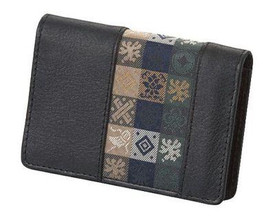 石畳緞子 (10.5×7.5×2cm)ブラック■美術工芸織物