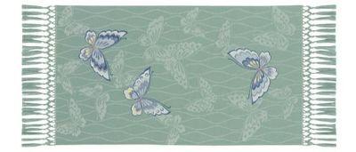 蝶の舞 (34×60cm)ブルーグレー■美術工芸織物