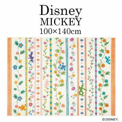 Mickey/ミッキー ワイルドグラスラグ DRM-1061 (100×140cm)